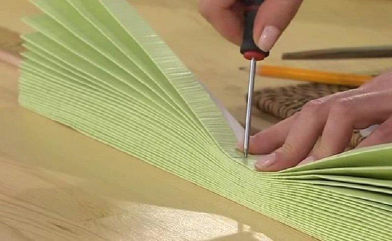 zh5   Как превратить кусок обоев в произведение искусства!