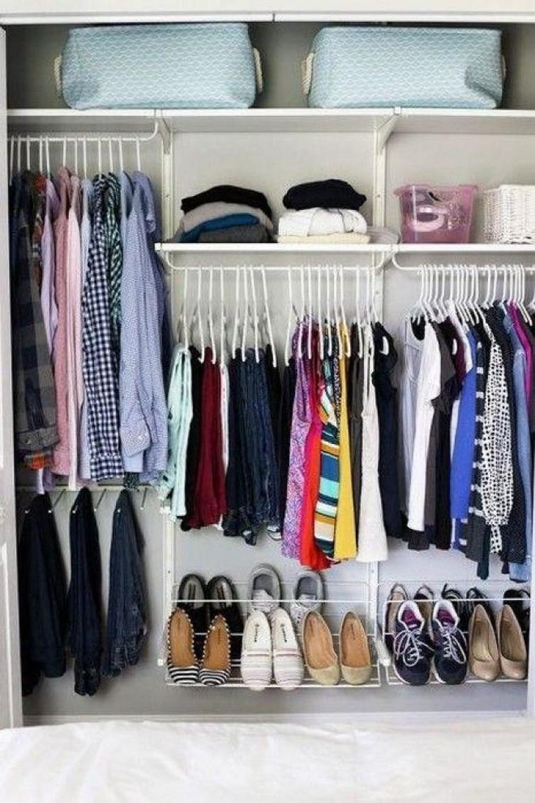 59dd9b83-0500-4969-a3a6-538a1990d896   20 идей правильной организации пространства в шкафу. Лайфхак для всех!