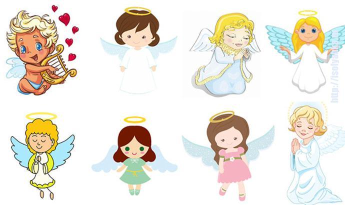 angels2   Хотите получить предсказание? Выберите ангелочка!