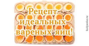 Варим яйца правильно: идеальный рецепт от шеф-повара