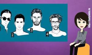 Психологический тест: какой тип мужчины тебе подходит?
