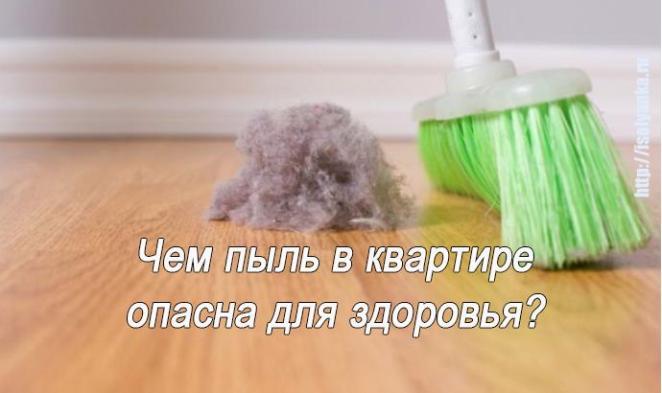 pyl-v-kvartire | Чем опасна пыль в квартире и почему ее называют тихим убийцей?