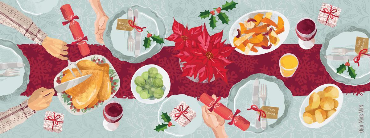 Christmas_table_LAYOUT-01 | Что должно быть столе: Новогоднее меню от Жёлтой Земляной Собаки
