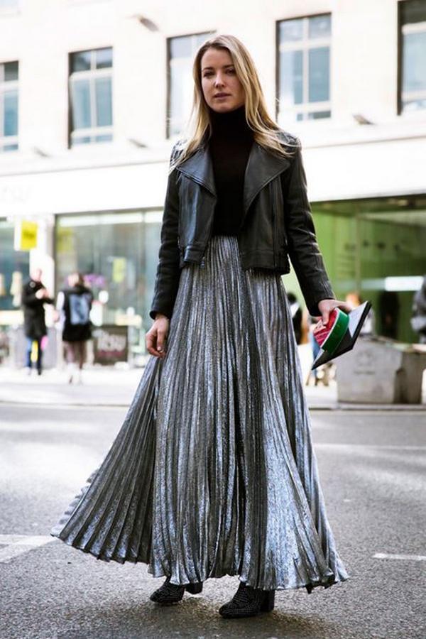 image12-22   27 стильных образов с юбками, которые заставят вас позабыть о брюках!
