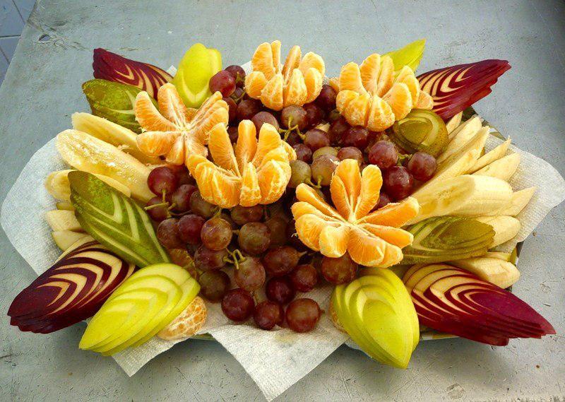 image16-21 | Простые, но красивые варианты фруктовой нарезки