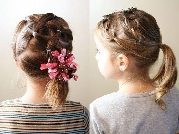 image3-43   Для маленьких принцесс: 35 шикарных причесок на короткие волосы!