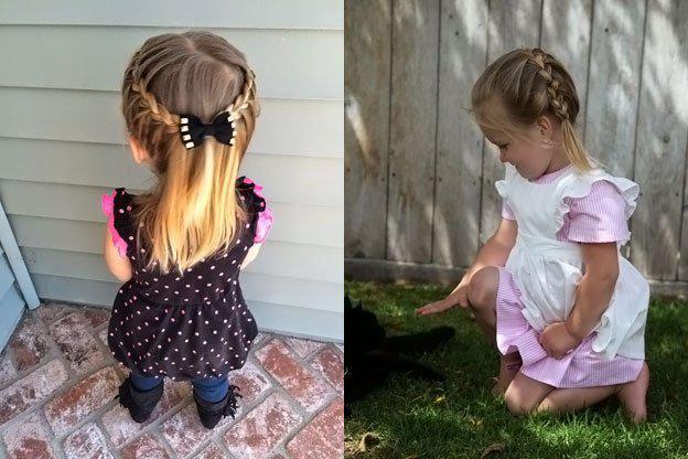 image5-35   Для маленьких принцесс: 35 шикарных причесок на короткие волосы!