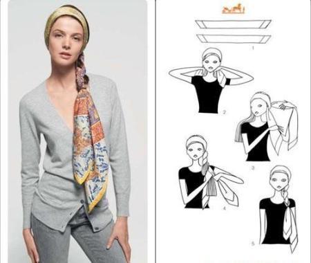 image6-16 | Как красиво повязать платок зимой — стильные образы в холодное время года!