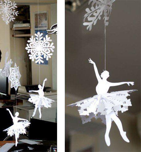 image6-59 | 3 украшения для Нового года, которые можно вырезать из бумаги