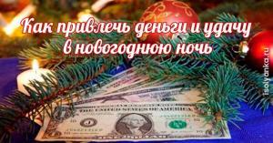 Как привлечь деньги и удачу в новогоднюю ночь — поверьте в волшебство!
