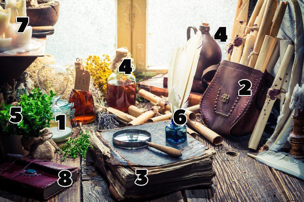 depositphotos_112059016-stock-photo-vintage-witcher-labolatory-with-scrolls | Тест: какой магией вы обладаете?