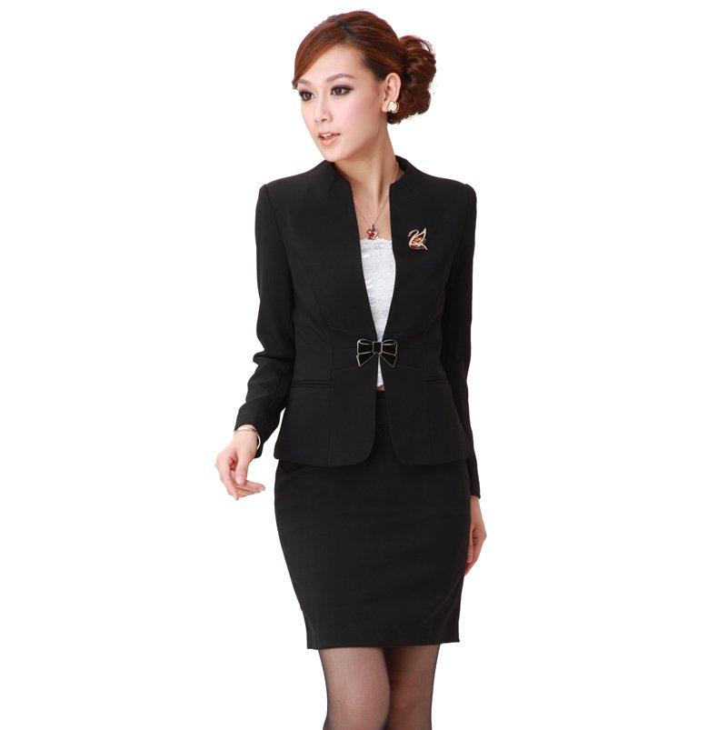 image1-165 | 20 стильных образов с юбкой и жакетом для деловых леди