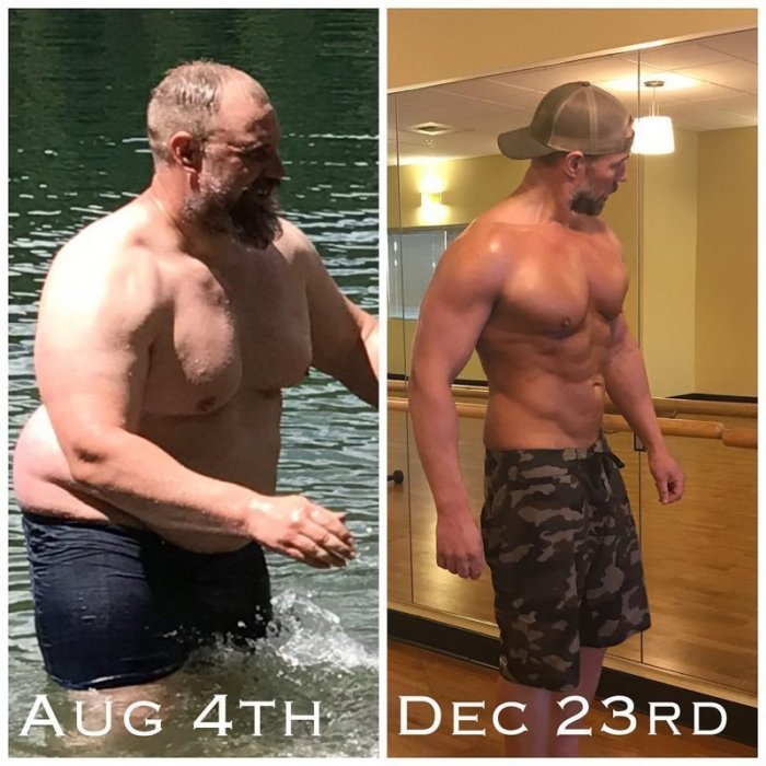 image1-200   Попытайтесь повторить! Многодетный отец похудел на 37 килограммов за полгода