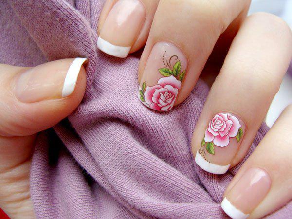 image12-46   Маникюр с розами: 20 очаровательных идей