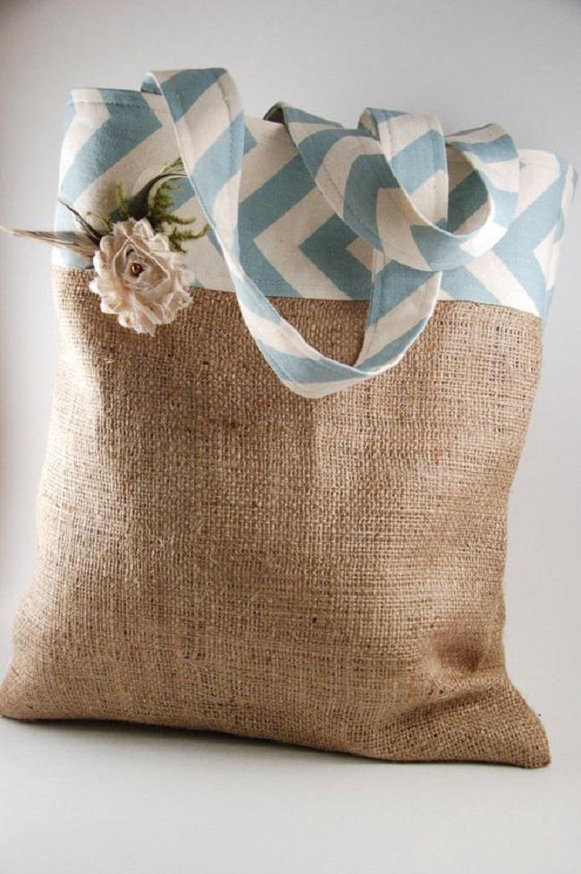 image15-9 | Не спешите выбрасывать старый мешок, из него можно сделать массу шикарных вещей!