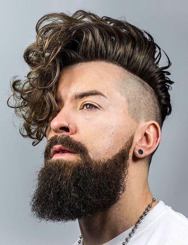 image21-28 | Модные мужские стрижки на длинные волосы 2018