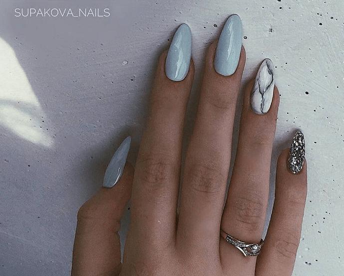 image24 | Модно и дорого: 25 идей роскошного ногтевого дизайна