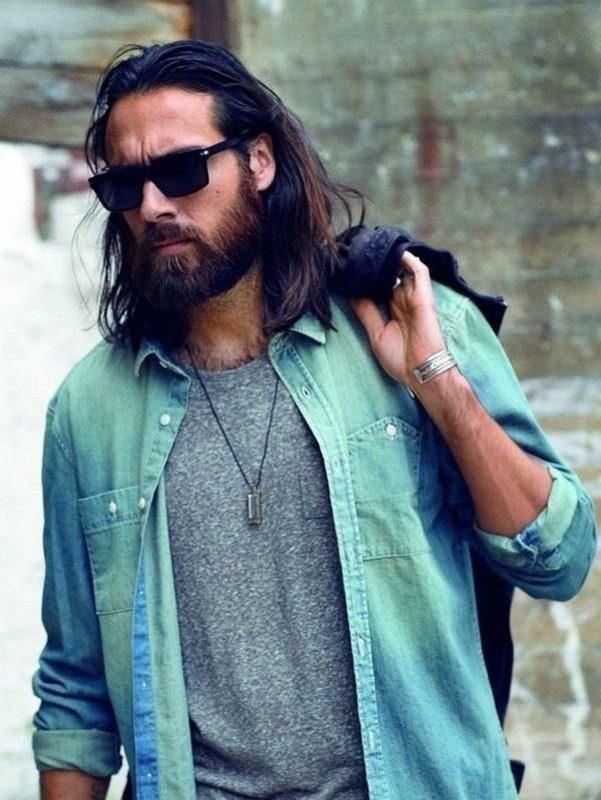 image33-6 | Модные мужские стрижки на длинные волосы 2018