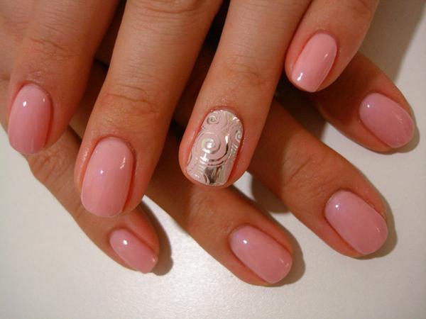 image1-172   Модный маникюр с дизайном на короткие ногти