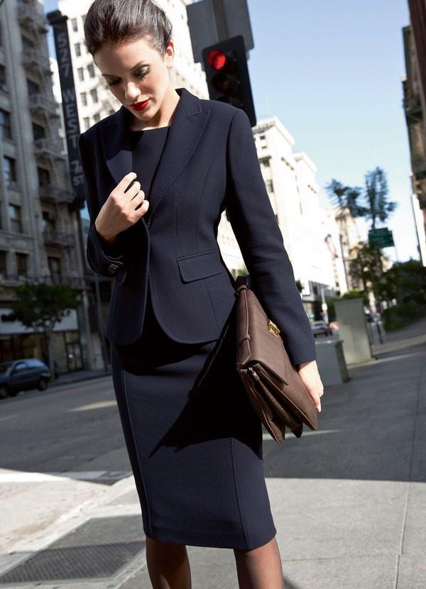 image10-86   20 стильных образов с юбкой для деловой леди