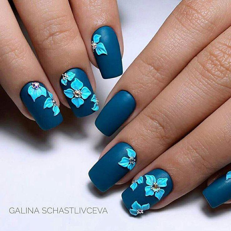 image14-46   Интересные идеи маникюра с рисунками на ногтях
