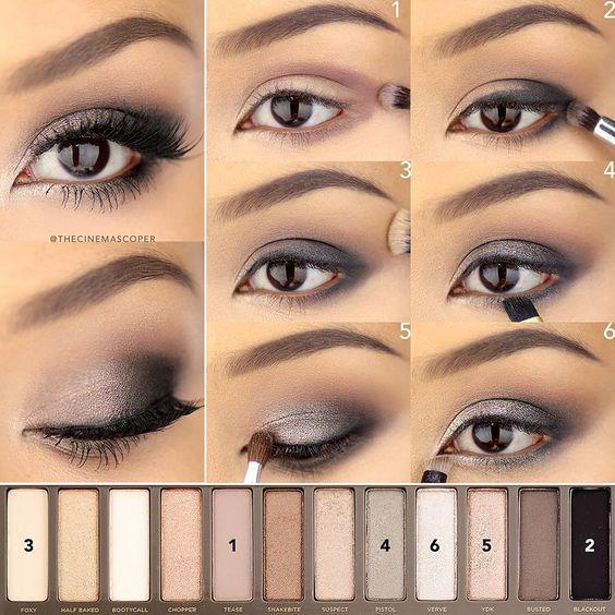 image14-64   Искусство макияжа: пошаговые инструкции на все случаи жизни