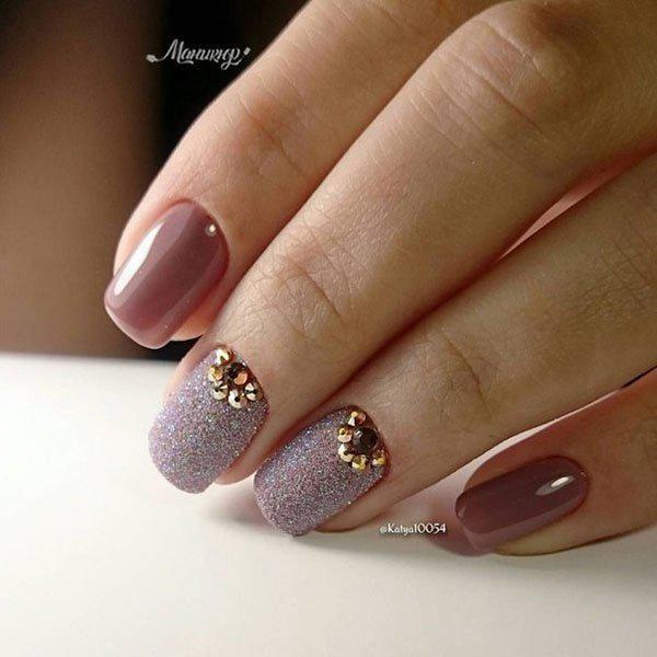 image17-60 | Прекрасные идеи маникюра на квадратные ногти