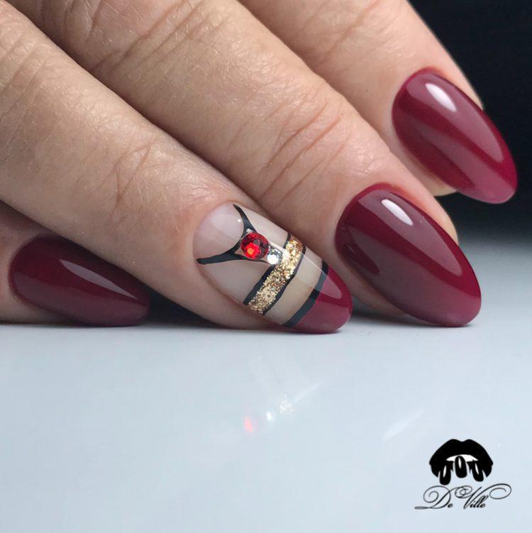 image25-20   Интересные идеи маникюра с рисунками на ногтях