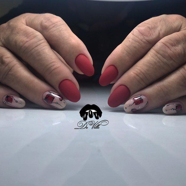 image31-10   Интересные идеи маникюра с рисунками на ногтях