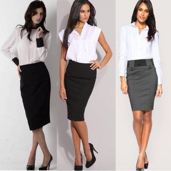 image4-136   20 стильных образов с юбкой для деловой леди