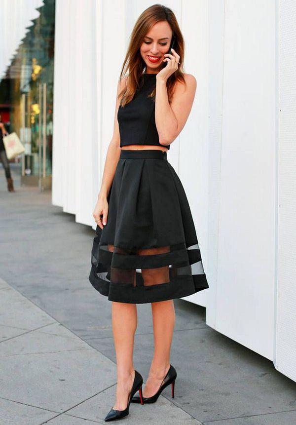 image5-68 | 10 стильных образов с черной юбкой