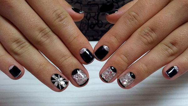 image5-97   Модный маникюр с дизайном на короткие ногти