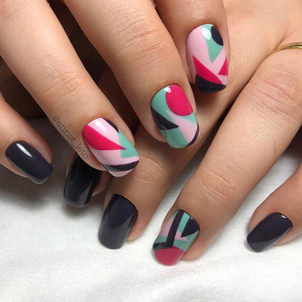 image7-105 | Прекрасные идеи маникюра на квадратные ногти
