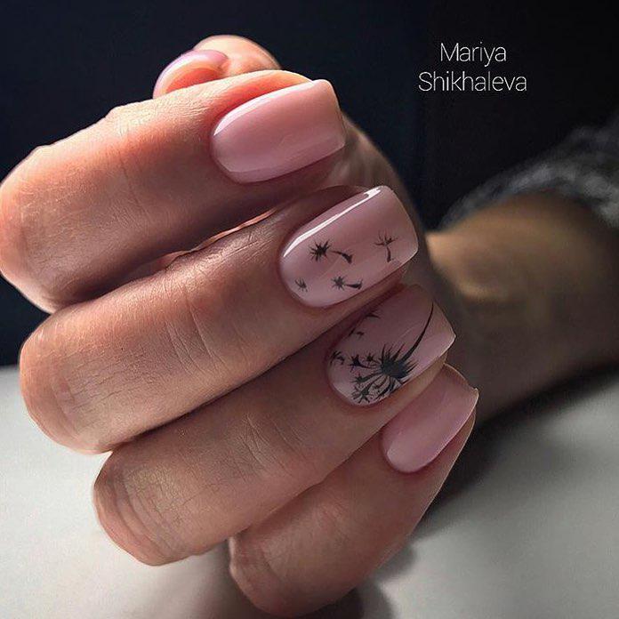 image7-73   Интересные идеи маникюра с рисунками на ногтях