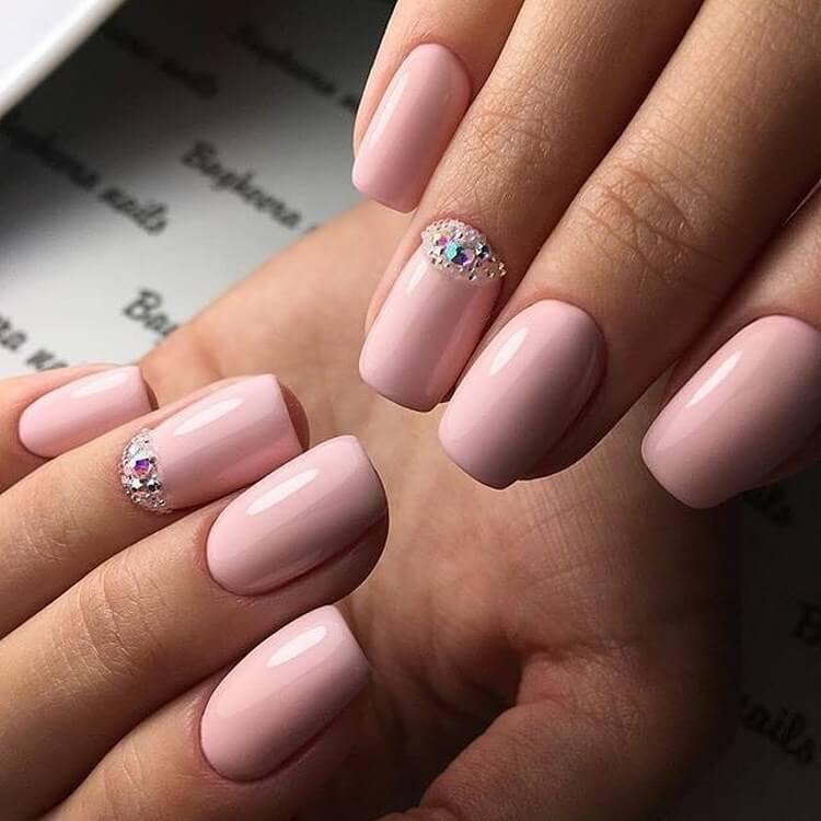 image8-55   Нежные идеи маникюра с дизайном в розовых оттенках