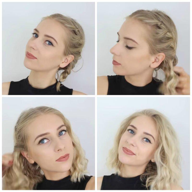 image11-17 | 10 лёгких причёсок для коротких и средних волос на каждый день