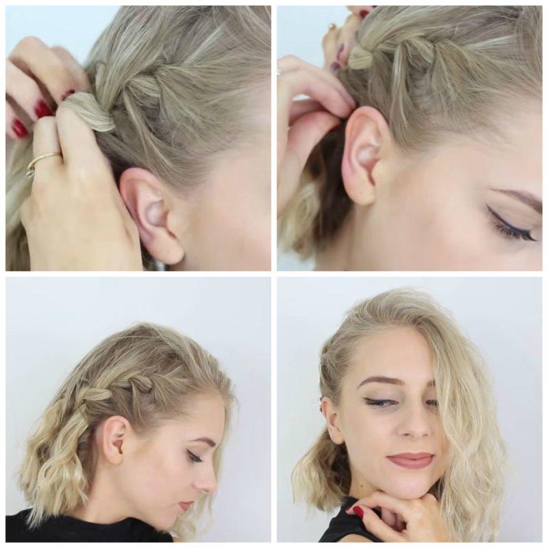 image12-17 | 10 лёгких причёсок для коротких и средних волос на каждый день