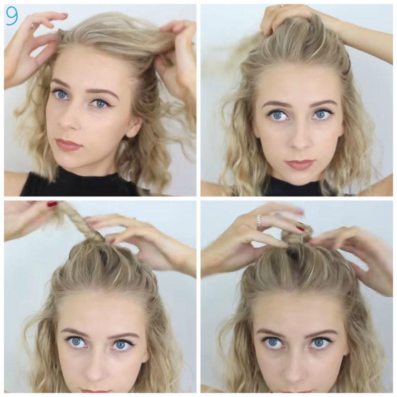 image13-16 | 10 лёгких причёсок для коротких и средних волос на каждый день