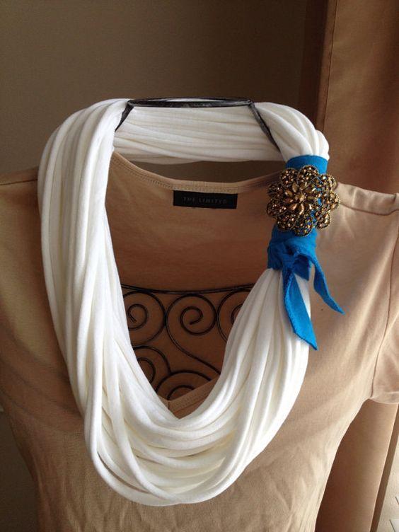 image16-12 | 24 оригинальные идеи, как превратить обычный шарф в колье