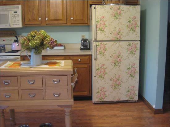 image16-17 | Новый дизайн старого холодильника: 7 способов создать стильный интерьер