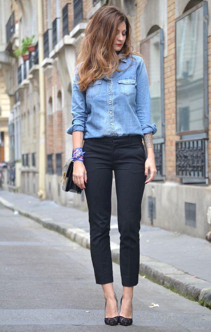 image22-15   Офисный стиль: как носить рубашку и не выглядеть скучной