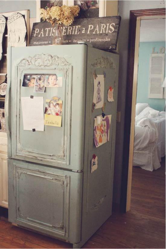 image28-4 | Новый дизайн старого холодильника: 7 способов создать стильный интерьер