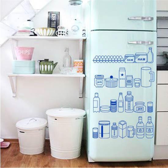 image3-33 | Новый дизайн старого холодильника: 7 способов создать стильный интерьер