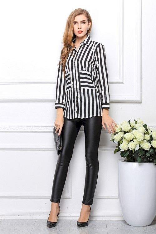 image3-52   Офисный стиль: как носить рубашку и не выглядеть скучной