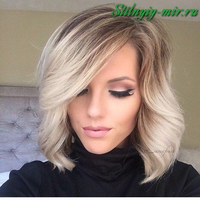 image36-5 | Модные оттенки и техники окрашивания на короткие волосы 2018