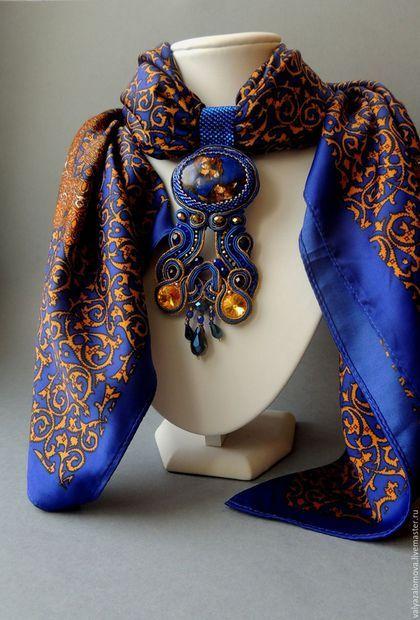 image4-22 | 24 оригинальные идеи, как превратить обычный шарф в колье