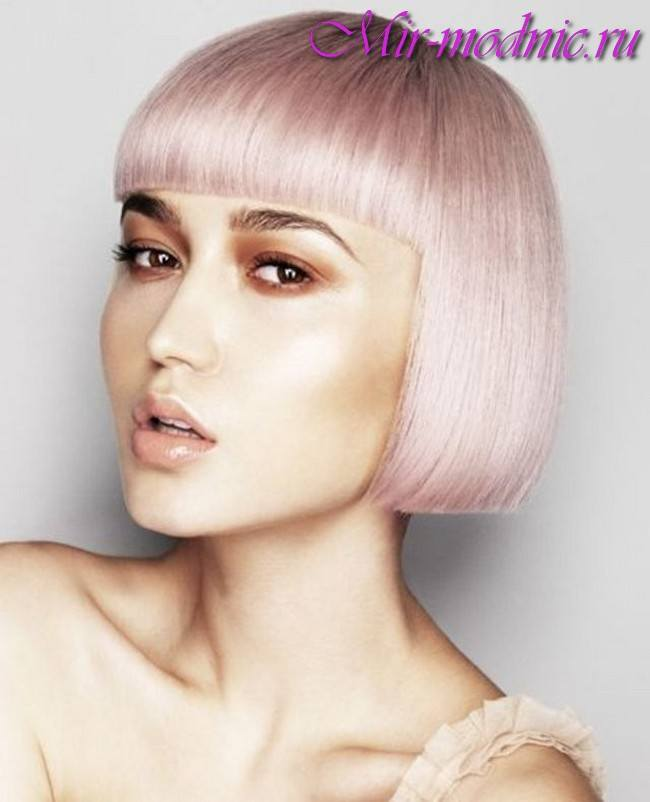image46-2 | Модные оттенки и техники окрашивания на короткие волосы 2018