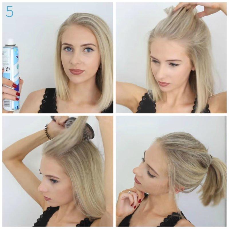 image7-21 | 10 лёгких причёсок для коротких и средних волос на каждый день