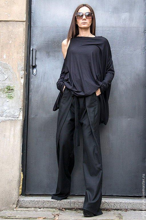 image8-75   8 стильных образов с черными брюками: модные тенденции весны 2018