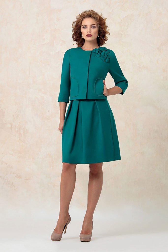 image9-33 | Утонченная элегантность — костюмы из юбки и жакета